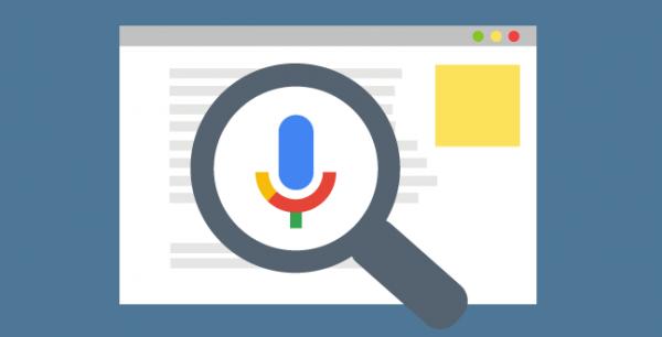 wyszukiwanie głosowe w Google
